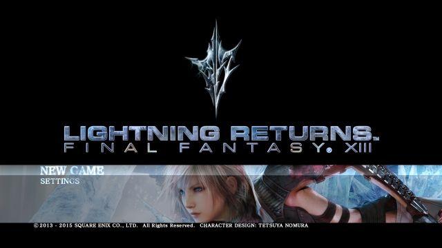 Lightning Returns Final Fantasy 13 - 1