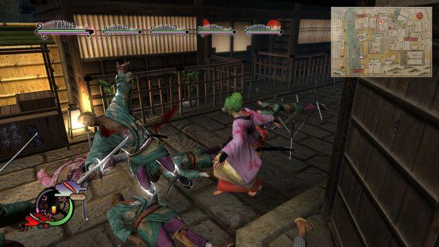 Way of the Samurai 4 - fighting