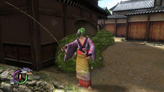 Way of the Samurai 4 - fishing