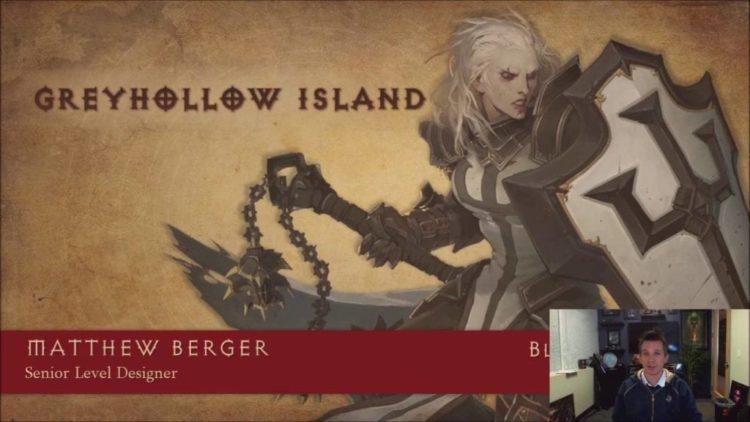 Diablo 3 Senior Level Designer discusses the creation of Greyhollow Island