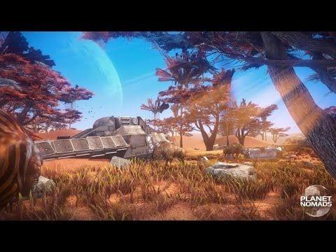 Planet Nomads is a sci-fi sandbox survival game Kickstarting in January