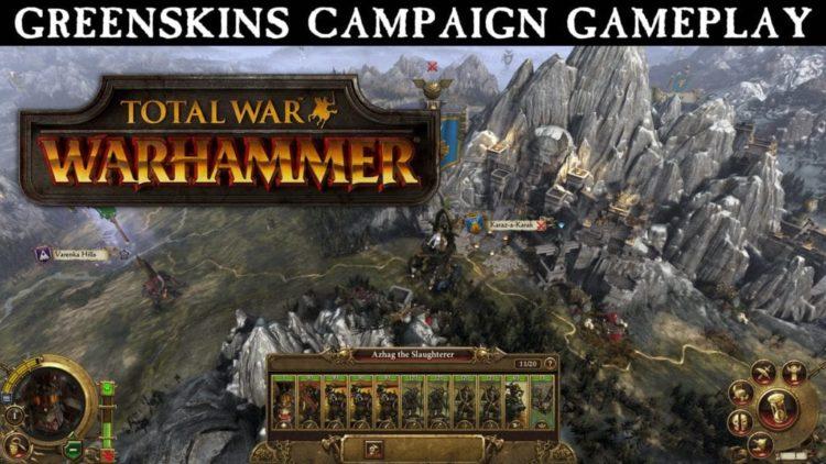 Total War: Warhammer campaign gameplay walkthrough video