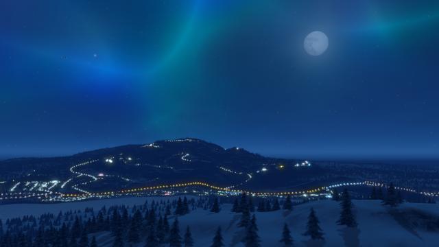 Cities Skylines Snowfall