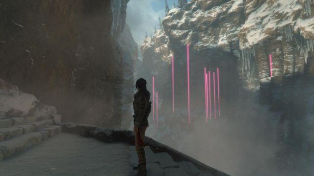 Rise of the Tomb Raider - graphic glitch