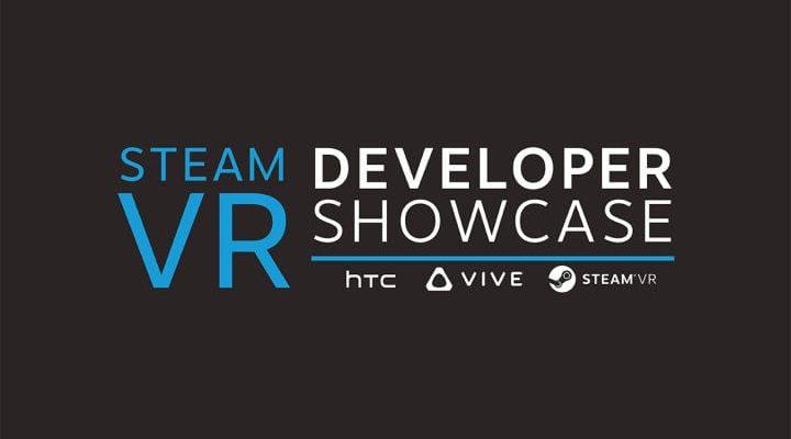 HTC Vive steam vr developer showcase