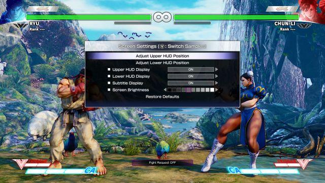 Street Fighter V - HUD