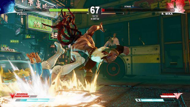 Street Fighter V - pretty