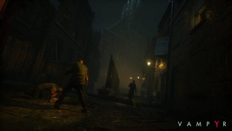 Vampyr screenshots will test your monitor brightness