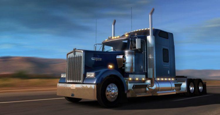 American Truck Simulator gets free W900 DLC and tweaks