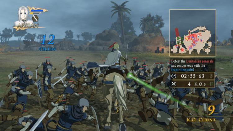 Arslan: The Warriors of Legend PC Version Impressions