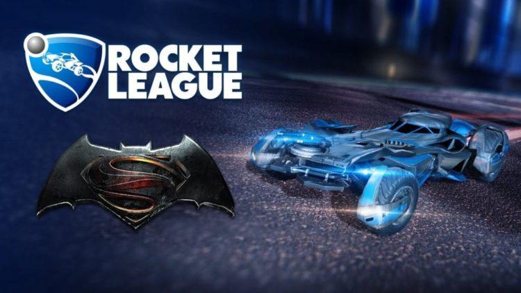 Rocket League Batmobile DLC unveiled