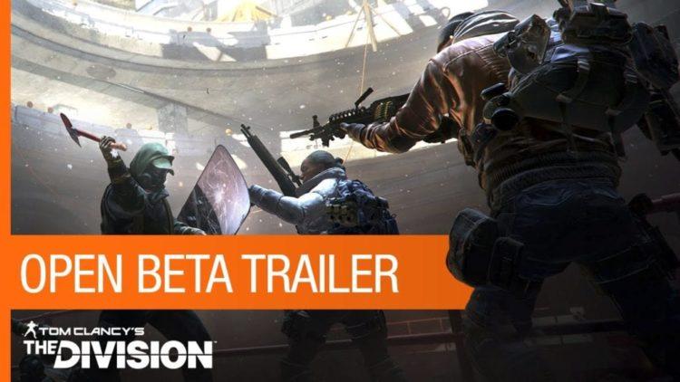 The Division open beta trailer