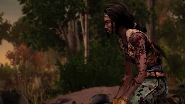 the walking dead michonne episode 1 (4)