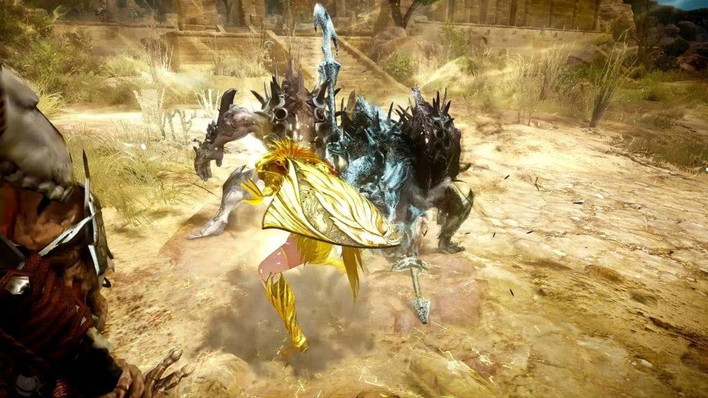 black desert online valkyrie awakening gameplay video pc invasion