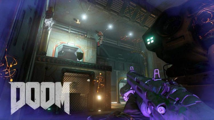 Doom multiplayer trailer features some gentle demonic caress
