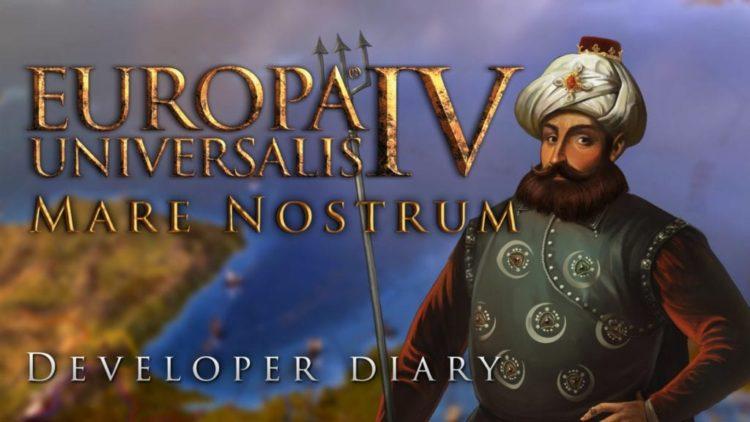Europa Universalis IV's Mare Nostrum DLC docks 5 April