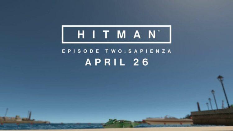 Hitman update 1.03 delayed on PC, Sapienza on 26 April