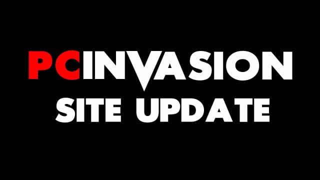 PC Invasion Site UPdate