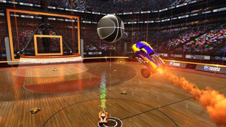 Rocket League getting a hoops basketball mode