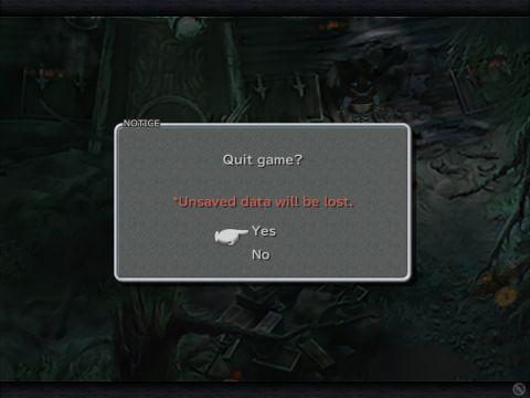 Final Fantasy 9 - quit