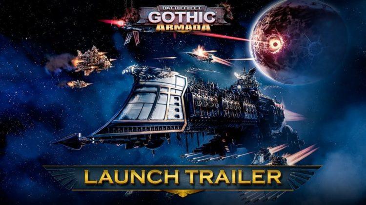 Battlefleet: Gothic Armada launch trailer