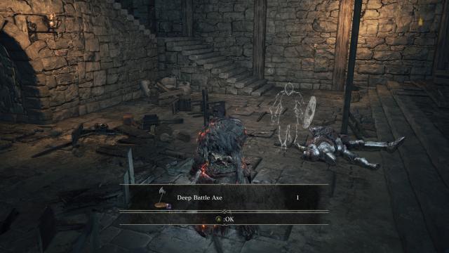 dark souls 3 deep axe