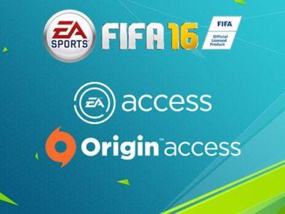 fifa 16 origin access