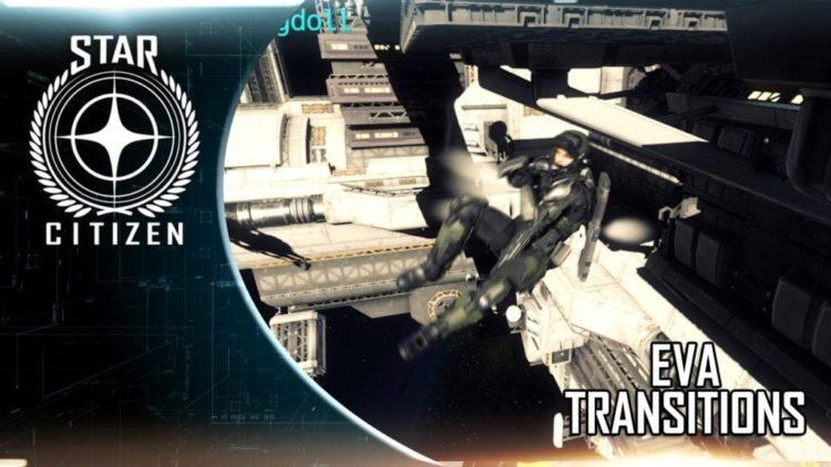 Star Citizen EVA transitions video