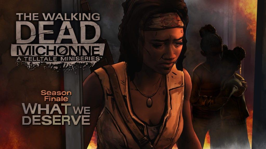 The Walking Dead: Michonne concludes 26 April