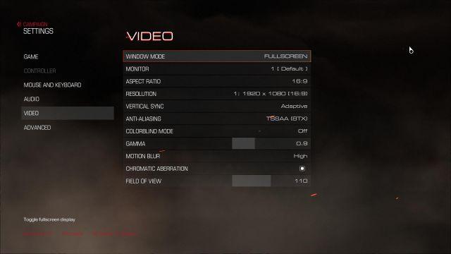 Doom - options 1