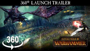 Total War: Warhammer launch trailer goes 360