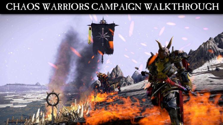 Total War: Warhammer – New Chaos Warriors Campaign gameplay