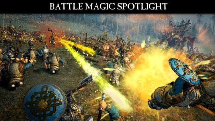 Watch Total War: Warhammer Battle Magic in action