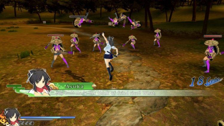 Senran Kagura Shinovi Versus PC Version Impressions