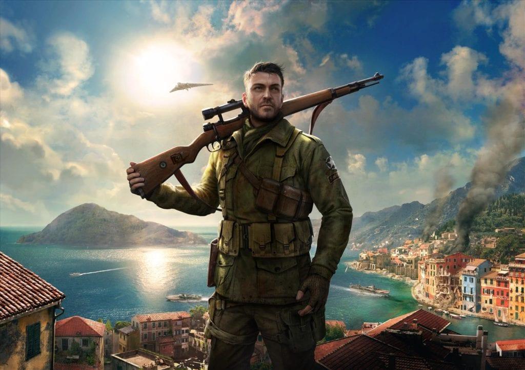 Sniper Elite 4 art