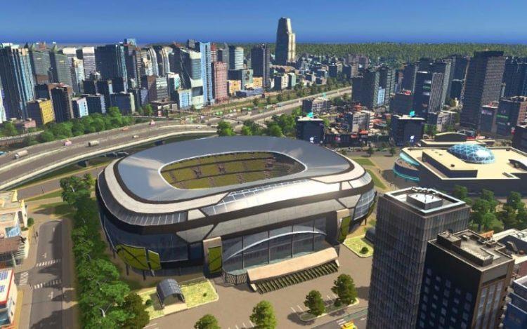 Cities: Skylines patch 1.5.0 adds football stadiums