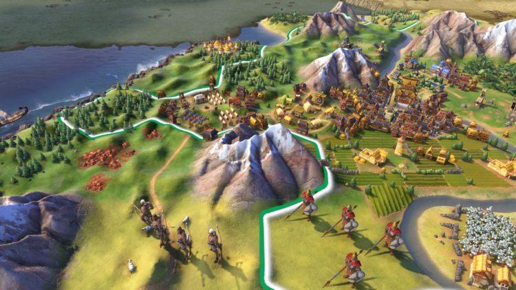 Civilization VI video explains how city districts function