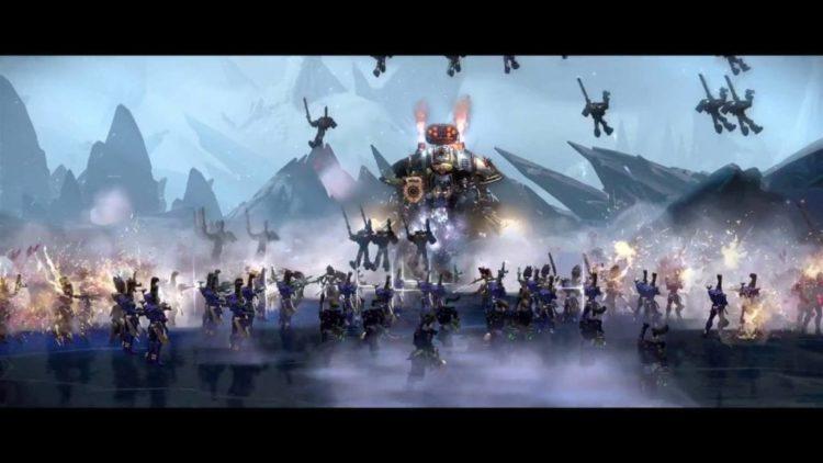 Dawn of War 3 E3 2016 first gameplay trailer