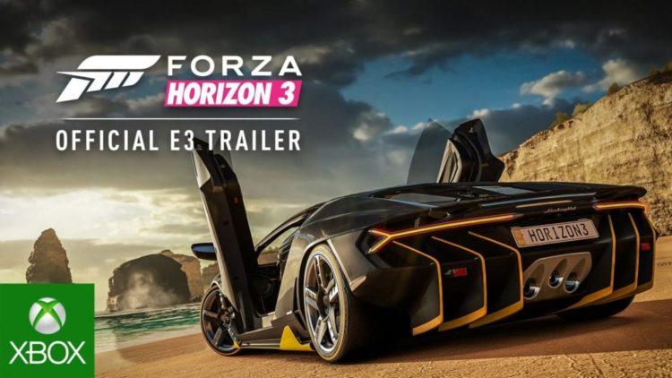 Forza Horizon 3 coming to Windows 10 PC