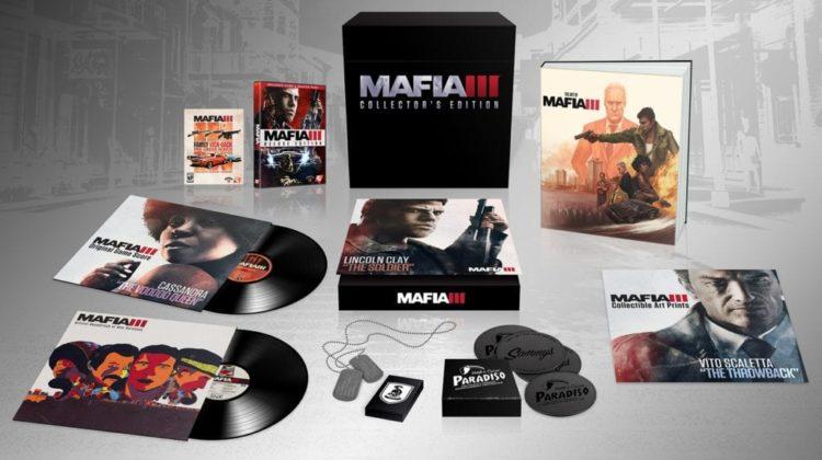 Mafia 3 Collector's Edition details – Mafia 2 back on Steam