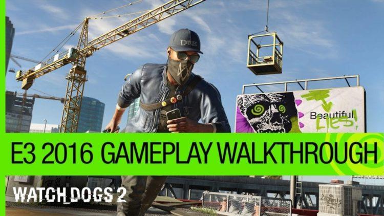 Watch Dogs 2 gameplay walkthrough shows infiltration