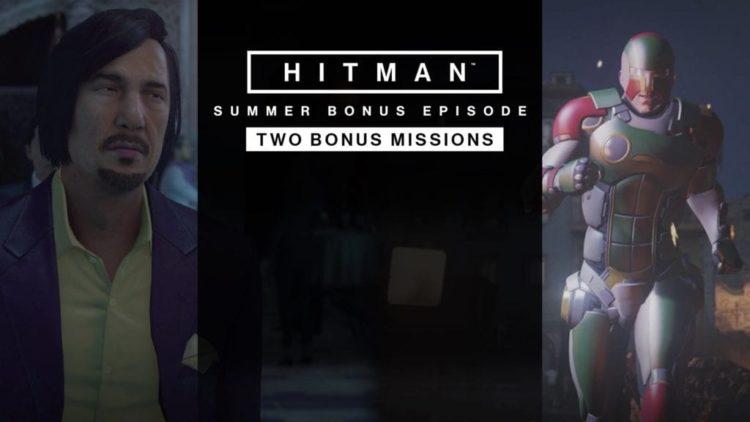 HITMAN bonus episode goes live today