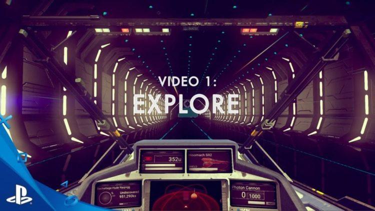 No Man's Sky trailer shows exploration