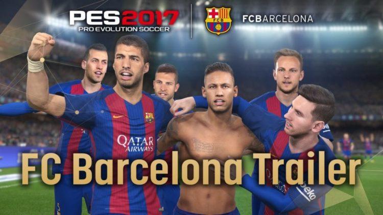 PES 2017 trailer shows Barca gameplay, still no PC version news