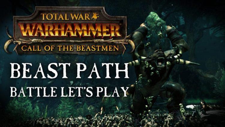 Total War: Warhammer releases Beastmen vs Empire battle video