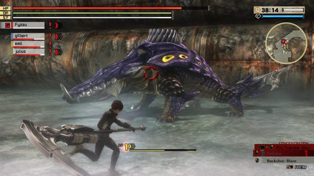 God Eater 2: Rage Burst 2016 pc game Img-1