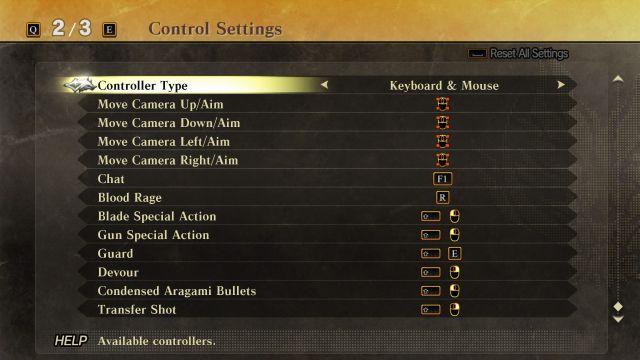 God Eater 2 - Controls 2