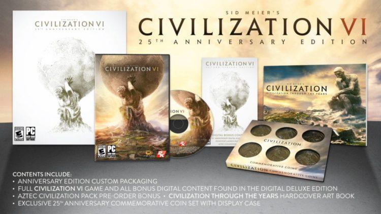 Civilization VI 25th Anniversary Edition announced