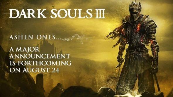 "Dark Souls 3 ""Huge News"" coming next week. Expect DLC news"