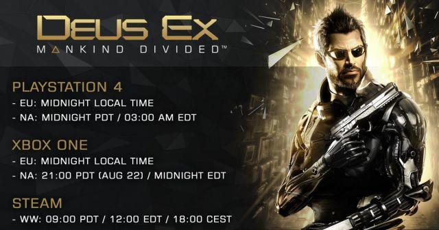 Deus Ex: Mankinf Divided